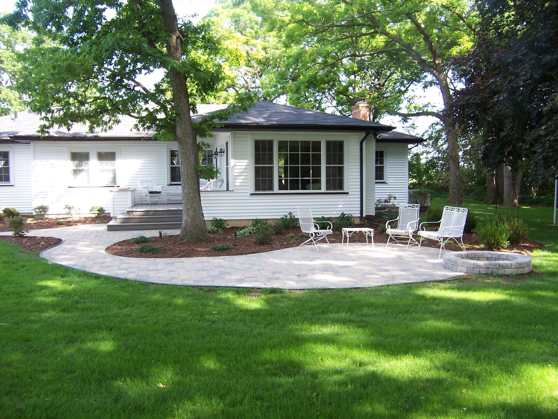 Residential landscape design hanson landscape for Residential garden design