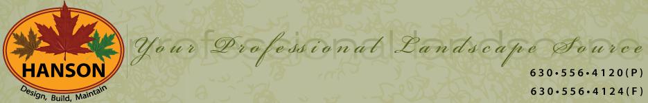 Hanson Landscape Logo